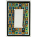 Tiny Tiles Single Decora Switch Plate