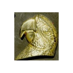 Parrot  Head Door Knocker