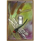 Dragonfly Single Toggle Switch Plate