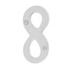 """Brass 4"""" House Number """"8"""""""