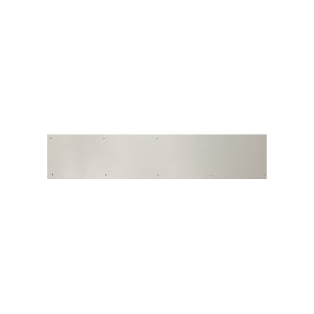 "Satin Chrome Kick Plate 6""X 34"""