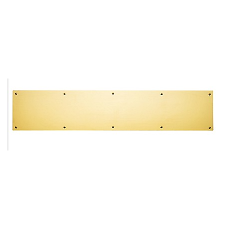 "Polished Brass Kick Plate 8""X 30"""