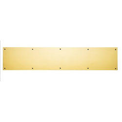 "Polished Brass Kick Plate 8""X 34"""