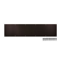 "Oil-Rubbed Bronze Kick Plate 8""X 34"""