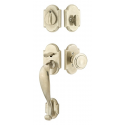 Arched Sectional White Bronze Entry Set