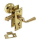 Annapolis Screen Door Lock Polished Brass