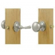Newtown Screen Door Lock Satin Nickel