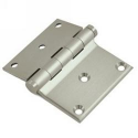 Half Surface Screen Door Hinge Satin Nickel