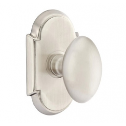No. 1003 Arc Door Knob Satin Nickel