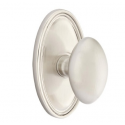 No. 1003 Door Knob (OVL) Satin Nickel