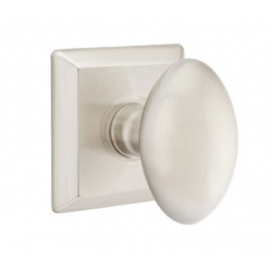 No. 1003 Door Knob (SQR) Satin Nickel