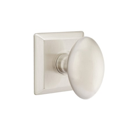 No. 1003 Sqr Door Knob Satin Nickel