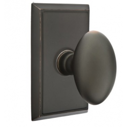No. 1003 Door Knob (RCT) Oil Rubbed Bronze