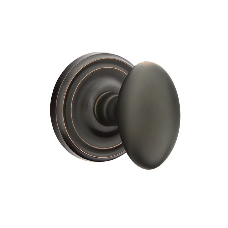 No. 1003 Door Knob (RND) Oil Rubbed Bronze