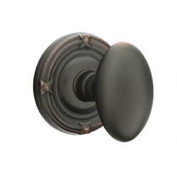 No. 1003 Door Knob (RBR) Oil Rubbed Bronze