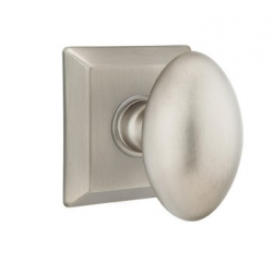No. 1003 Door Knob (SQR) Pewter
