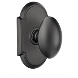 No. 1003 Door Knob (ARC) Flat Black