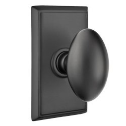 No. 1003 Door Knob (RCT) Flat Black