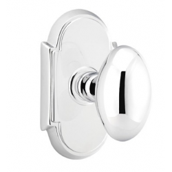 No. 1003 Door Knob (ARC) Polished Chrome