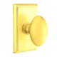 No. 1003 Door Knob (RCT) Polished Brass
