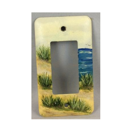 Ocean Breeze GFI Switch Plate