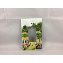 Cottage Garden Switchplate