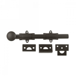 """8"""" Surface Bolt in Oil Rubbed Bronze"""