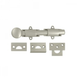 "6"" Surface Bolt in Satin Nickel"