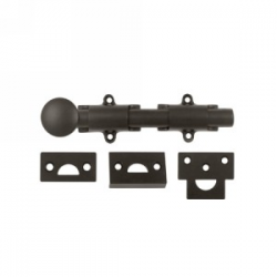 "6"" Surface Bolt in Oil Rubbed Bronze"