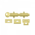"""6"""" Surface Bolt in Polished Brass"""
