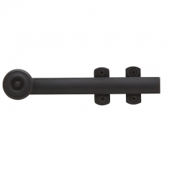 """6"""" Decorative Surface Bolt in Oil Rubbed Bronze"""