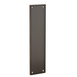 Oil Rubbed Bronze Modern Push Plate