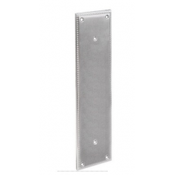 Satin Nickel Knoxville Door Pull Plate 8""