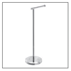 Chrome Free Standing Toilet Tissue Holder