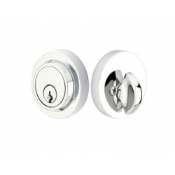 Modern Double Cylinder Deadbolt Polished Chrome