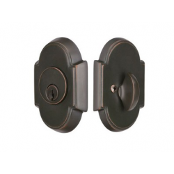 Arched Double Cylinder Deadbolt Oil Rubbed Bronze