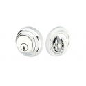 Low Profile Double Cylinder Deadbolt Polished Chrome