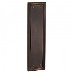 "20"" Door Push Plate in Venetian Bronze 001-119"